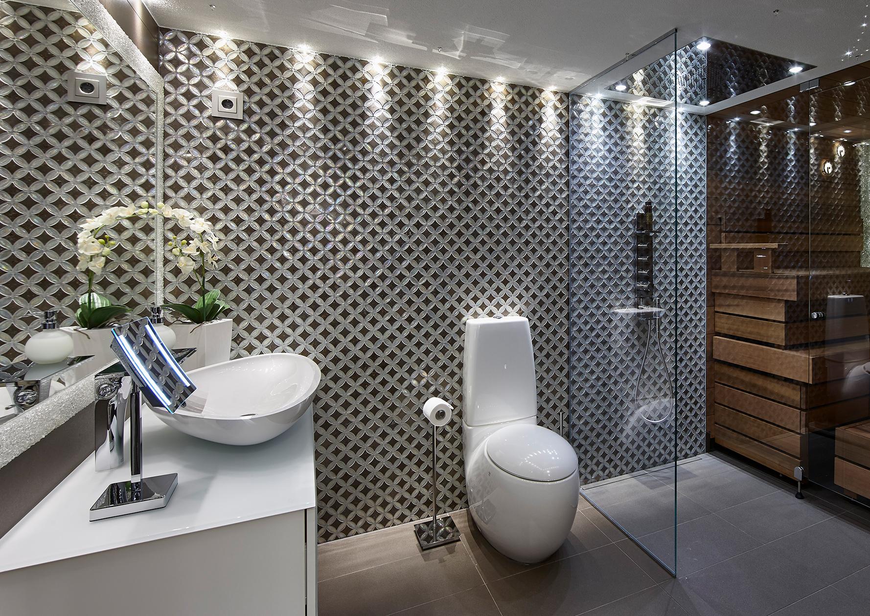 Epäsuora valaistus kylpyhuone