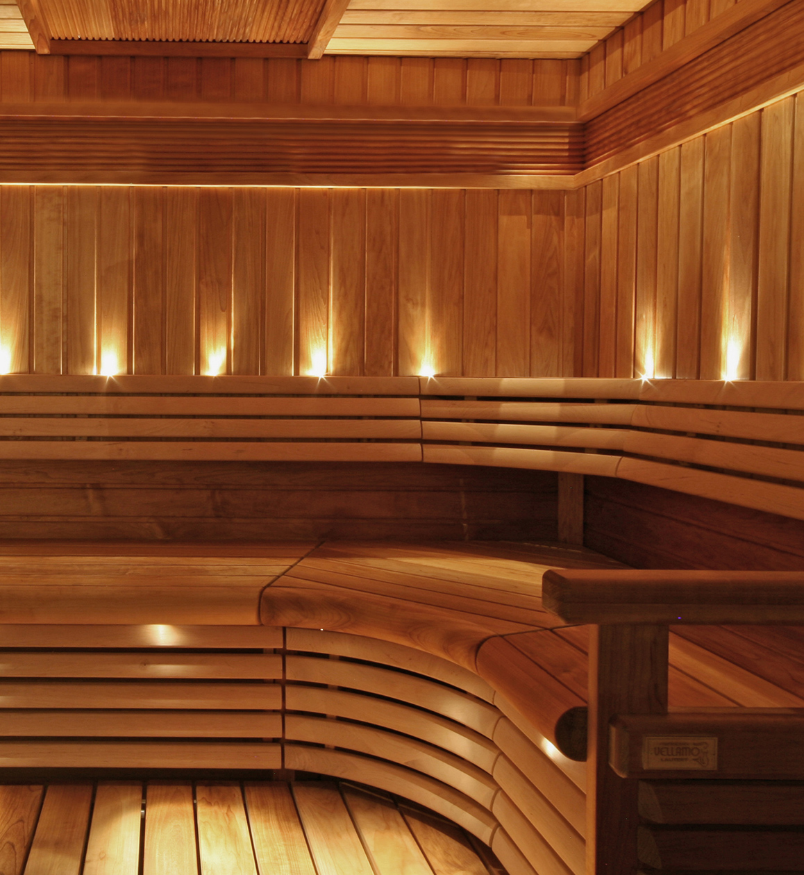 Traditional sauna seat lighting with the set VPAC-1527-G217.  sc 1 st  Cariitti & Sauna lighting - Cariitti azcodes.com
