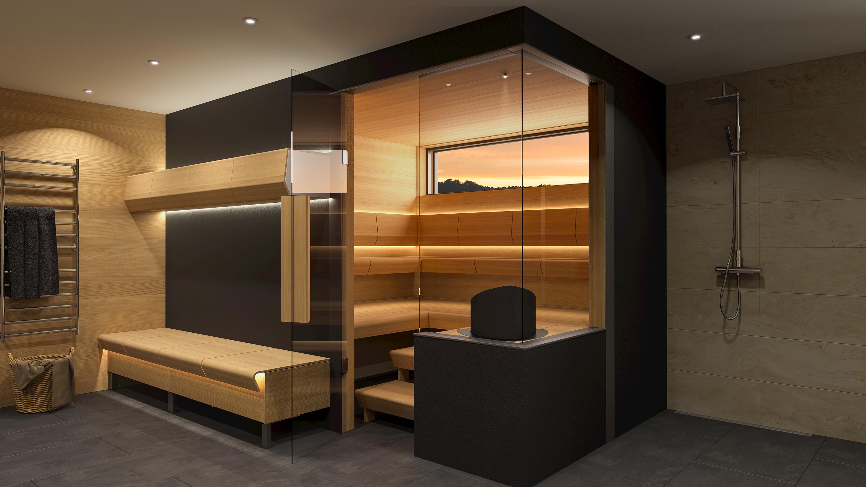Construire Un Sauna Finlandais mobilier pour sauna, la nouvelle gamme de produits cariitti