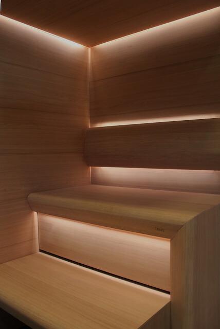 saunan valaistus sauna linear