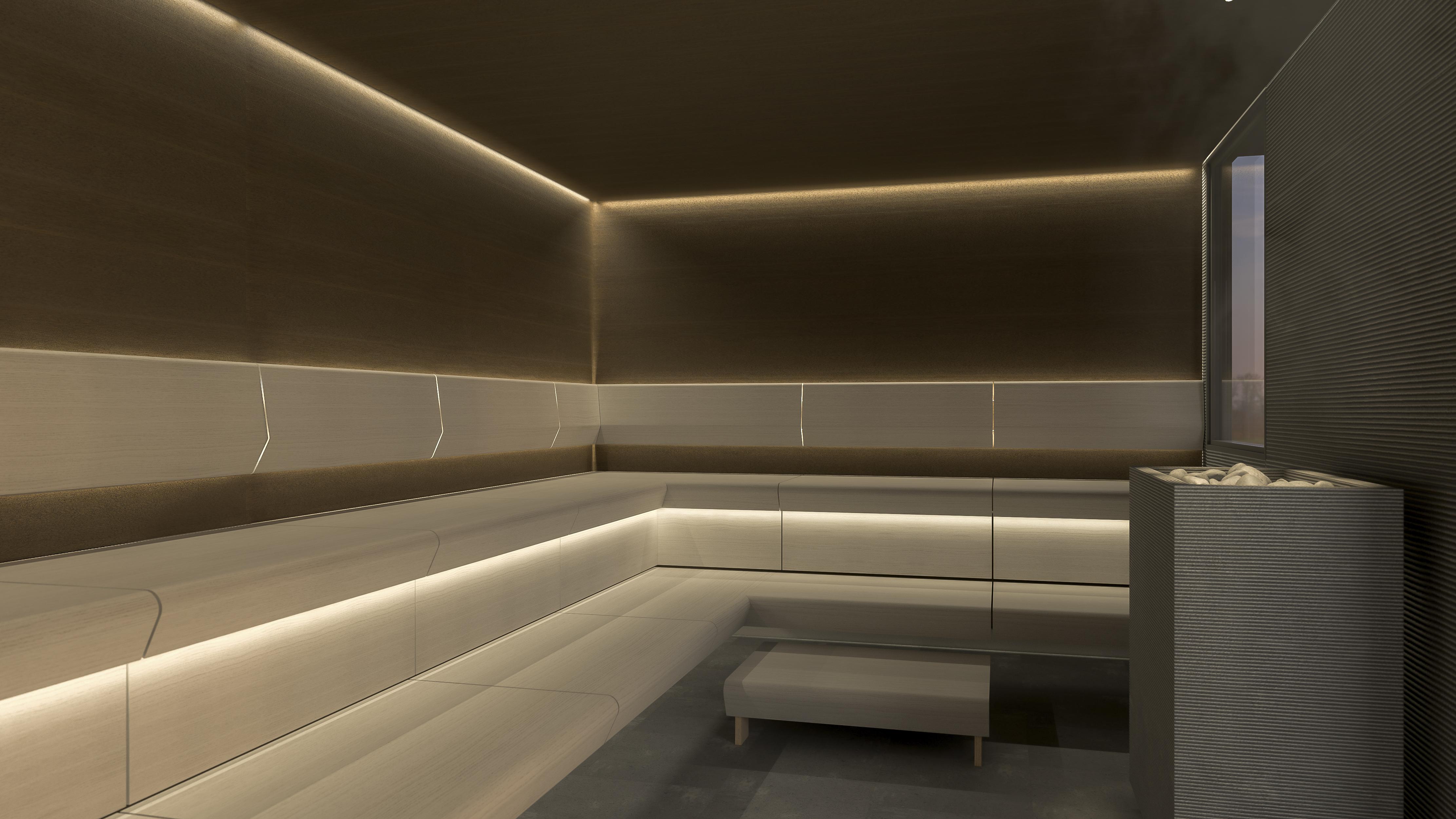 Construire Un Sauna Finlandais le roi du sauna a exporté les banquettes taive dans une